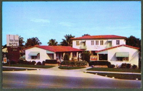 Town House Motel 5215 Biscayne Boulevard Miami FL postcard 1950s