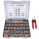 CAT-190-8900 HD Series Field Service Kit with 20-14 AWG 4-Way Indent Crimp Tool and 100 Extra Contacts