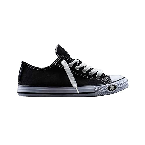 West Coast Choppers Shoes Warrior Low Tops, Farbe:Red, Größe:42