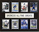 NCAA Boise State Broncos All-Time Greats Plaque