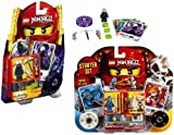 Lego Ninjago 2256 and 2257 Exclusive Starter Gift Set of 80 Pieces. Includes Lord Garmadon , Frakjaw and Jay, Baby & Kids Zone