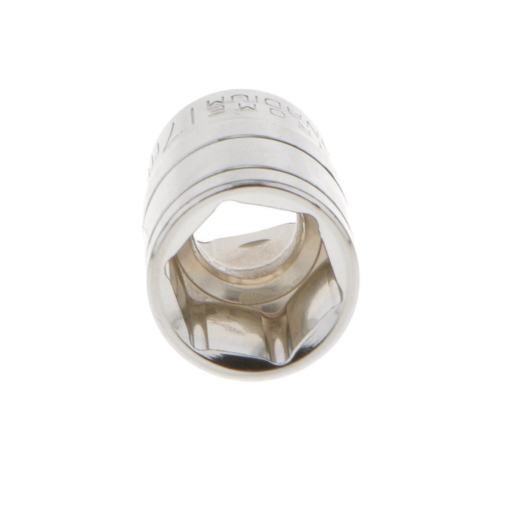 8mm-32mm Short 1//2 Drive Socket Metric Hexagonal Chrome Winding Vanadium Part 27mm