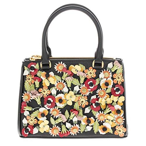 Prada-Womens-Garden-Saffiano-Handbag-Black-Multicolor