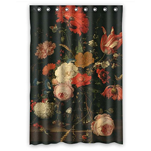 Eyeselect Width X Height / 48 X 72 Inches / W H 120 By 180 Cm Famous Classic Art Painting Flowers Blossoms Shower Curtains Polyester Fabric Ornament And Gift To (Mcgurk's Halloween)