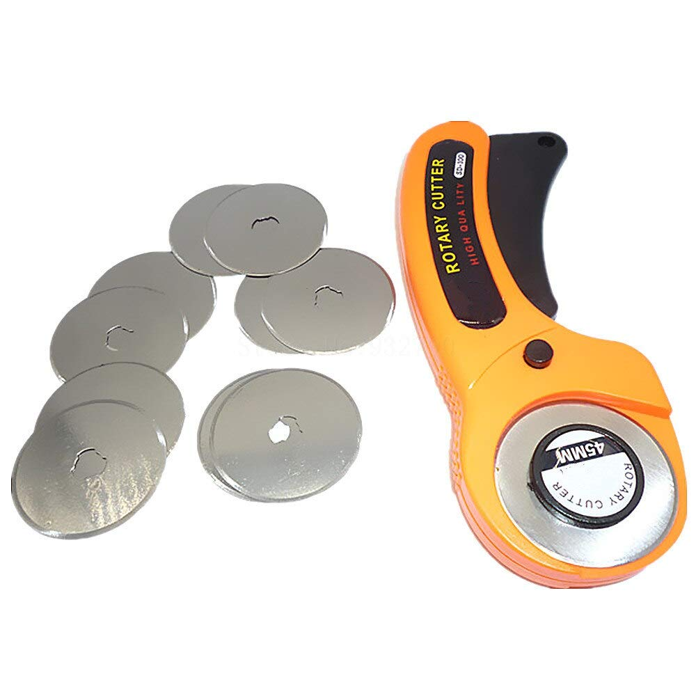 Amazon com: Meka-supplies - 45mm Rotary Cutter + 10pcs