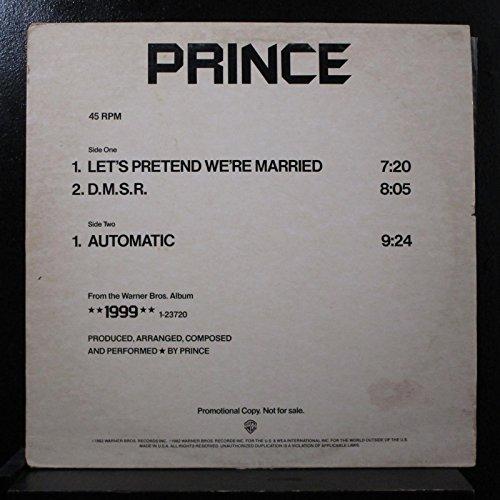 Price comparison product image Prince - Let's Pretend We're Married / D.M.S.R. / Automatic - Lp Vinyl Record
