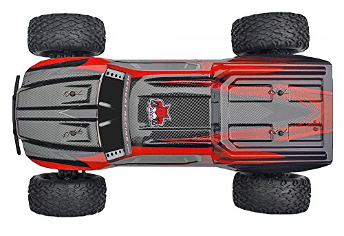 Redcat Racing Blackout XTE 1/10 Scale Electric Monster Truck with Waterproof Electronics, Red by Redcat Racing (Image #13)