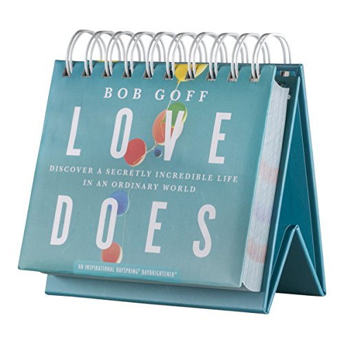 DaySpring DayBrightener Love Dose by Bob Goff DayBrightener Perpetual Calendar (88482)