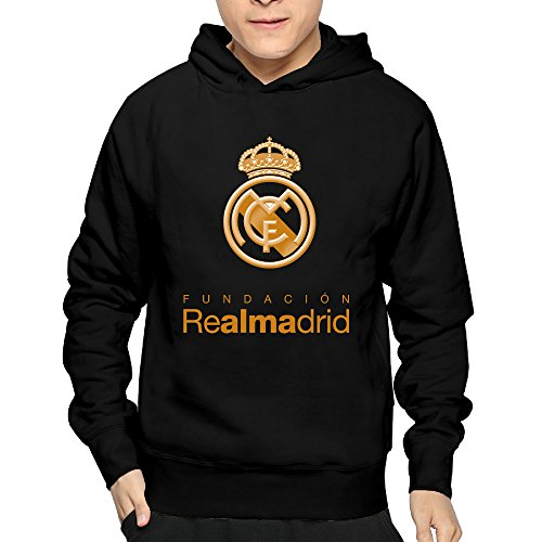Real Logo Sweatshirt (Real-Madrid-Logo Man's Design Hooded Sweatshirt)