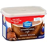 Maxwell International Cafe Cafe-Style Sugar Free Suisse Mocha Cafe Beverage Mix 4.1 OZ (Pack of 8)