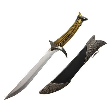 Amazoncom 12 Elven Dagger Knife Medieval Fantasy Sword Lotr