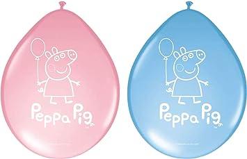 Folat 8 Globos * Peppa Pig * para Fiestas y cumpleaños ...