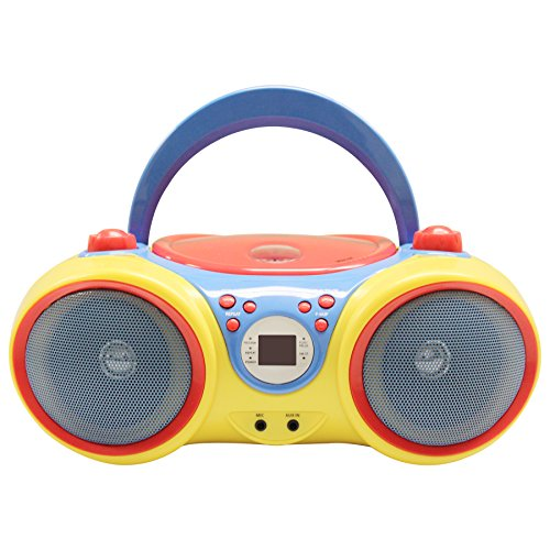 HamiltonBuhl HECKIDSCD30 Kids CD Player/Karaoke Machine with Microphone by HamiltonBuhl (Image #2)