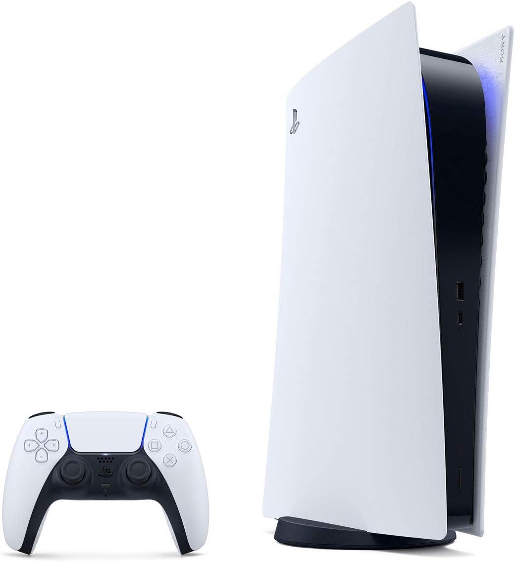 PlayStation 5 デジタル・エディション (CFI-1000B01) - amazon