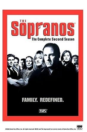 Amazon.com: The Sopranos - The Complete Second Season [VHS ...