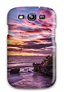 New Arrival Case Cover With Design For Galaxy S3- Bellflower