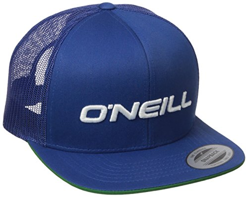 O'Neill Men's Challenged Trucker Hat, Royal, One Size - Oneill Mesh Hat