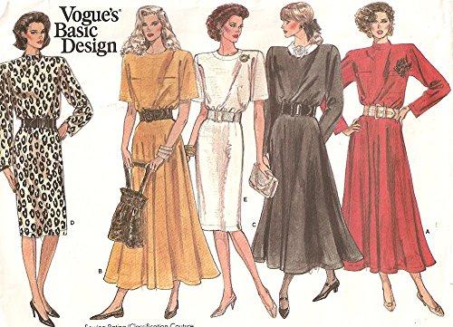 Vogue 1923 Vintage 1970s Basic Design Dress Pattern B31 Check Offers for ()