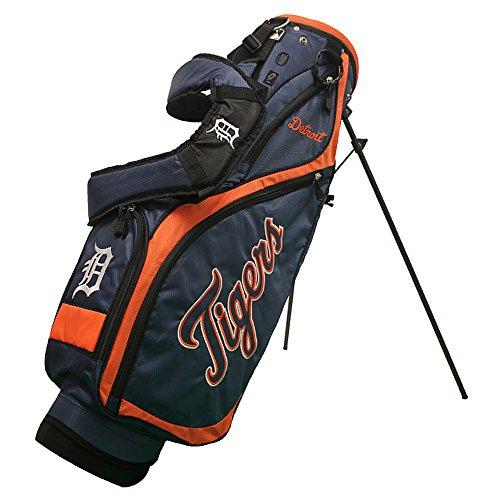 モード宇宙の労働者チームゴルフ95927 Detroit Tigers MLB Nassauゴルフスタンドバッグ