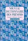 Nouveau dictionnaire des prénoms par Barbé