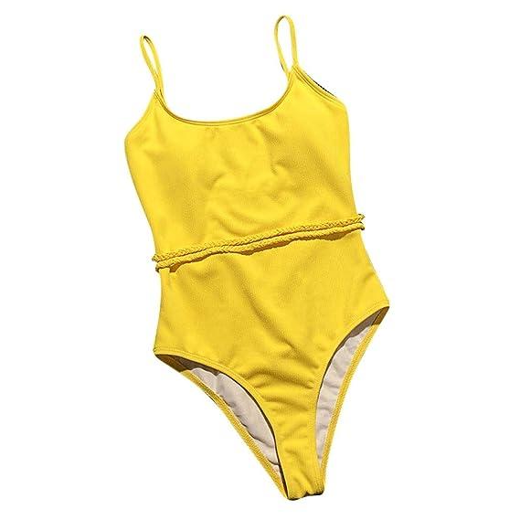 LHWY Tankini Trikini Tangas Bikini Sexy para Mujer Push-Up ...