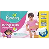 Easy Ups Training Pants Pull On Disposable Diapers for Girls Size