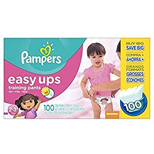 Pampers Easy Up sz 4 2T/3T, 100 ct (Old Version)