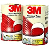 3M General Purpose Masking Tape, 18 mm x 20 m (8 Rolls/Pack)
