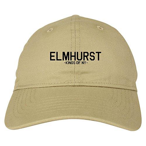 Kings Of NY Elmhurst Queens New York Mens Dad Hat Baseball Cap Beige -
