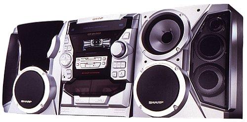 amazon com sharp cd ba200 compact stereo system discontinued by rh amazon com sharp audio system manual rrmcga175awsa Sharp Wireless Surround Sound System