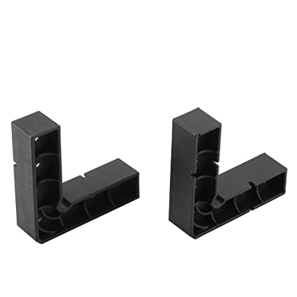 2Pcs Positioning Squares Tools, L Shape Right Angle Clamp-It Assembly  Square Woodworking Carpenter Tool Corner Clamping for Picture Frames,  Boxes,
