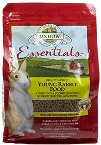 Amazon Com Oxbow Bunny Basics Young Rabbit Food