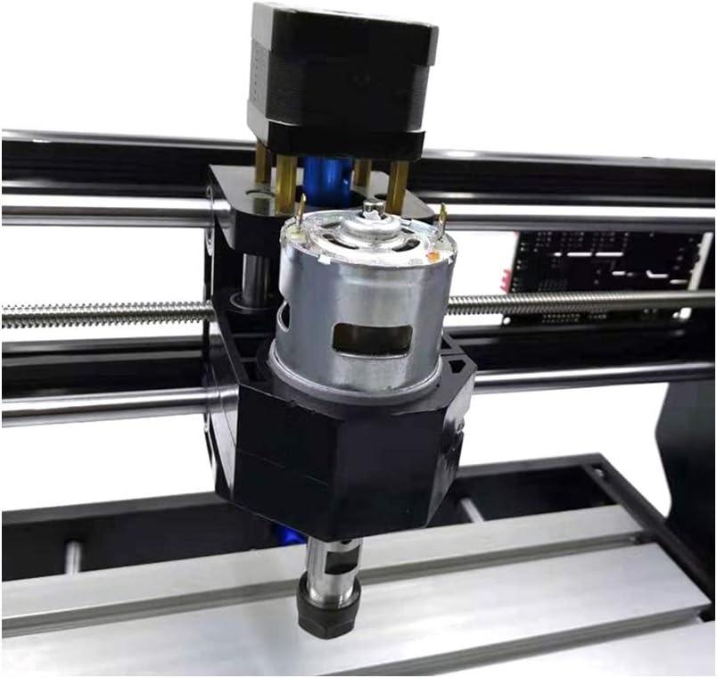 3018 Pro Max QianY-Tool Machine de Gravure de Machine de Gravure de fraiseuse de Carte de Circuit imprim/é de Commande de GRBL de Machine de Gravure en Bois avec Les Outils de Coupe de +15W
