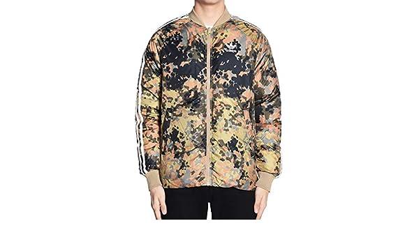 2aa7a36e44912 Amazon.com  adidas Men s Originals Pharrell Williams hu Hiking Reversible  Camo SST Jacket CY7867 (S)  Shoes