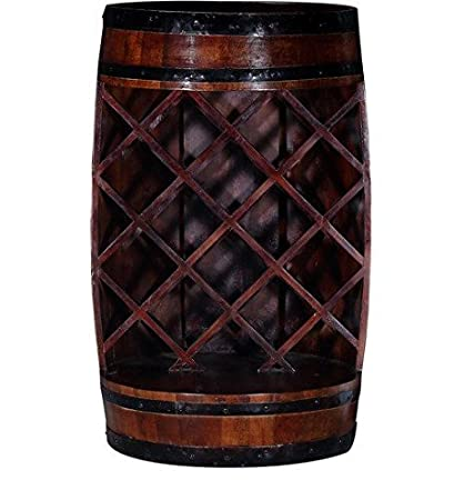 Ringabell Altavista Alcodrum Solid Wood Bar Cabinet (Teak Finish)