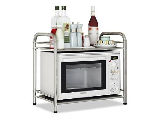 CXYG-Storage shelf Cocina de estante de acero inoxidable Marco de ...