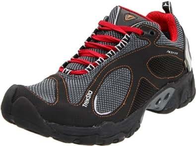 Treksta Men's Evolution GTX Trail Running Shoe,Black/Red,8 M US