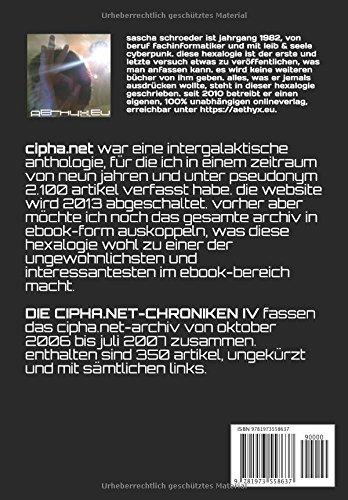 DIE-CIPHANET-CHRONIKEN-IV-eine-intergalaktische-cyberpunk-anthologie-German-Edition
