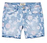 Squeeze Girls' Butterfly & Floral Midi Shorts (Light Elise, 2T)