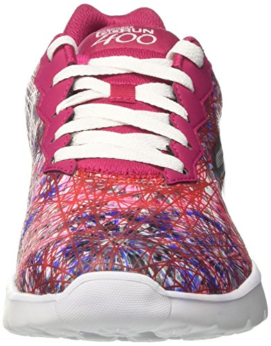 Run Go 400 Women's Pink Pink Skechers Trainers Velocity 8a5PWq4