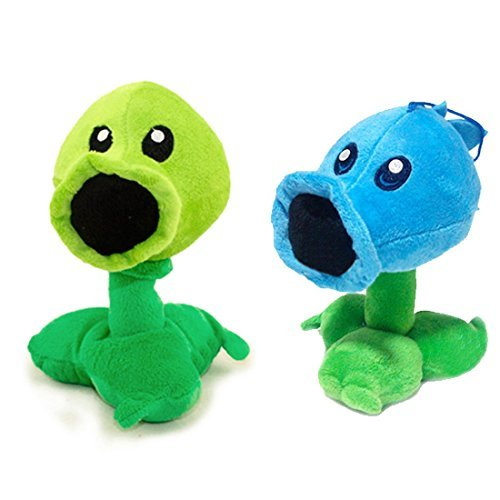 Toyswill® Plants Vs Zombies Stuffed Plush Toy - Ice Peashooter 17cm/6.7