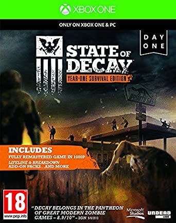 State Of Decay: Year One Survival Edition (Xbox One) [Importación ...
