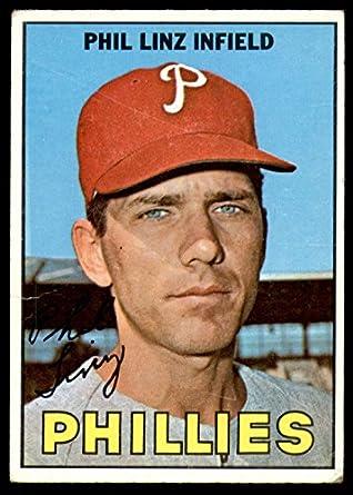 1967 Topps #14 Phil Linz Philadelphia Phillies Baseball Card Verzamelkaarten: sport