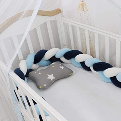 angelseakbb baby bed bumper knot bed