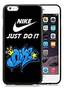 Fashionable And Durable Custom Designed Cover Case For iPhone 6 Plus 5.5 Inch With Nike 14 Black Phone Case