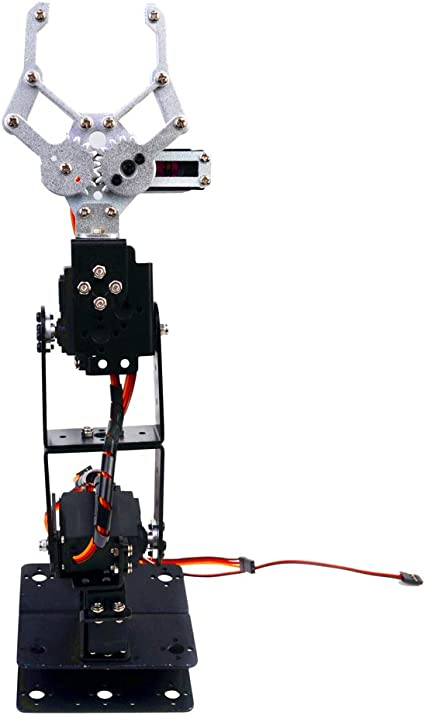 DIY Roboter 4-dof Roboter Ps2 Griff Mechanischer Arm Für Arduino Lern Kit