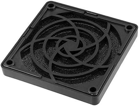 SODIAL(R) Negro Ventilador de caja de PC 80mm Filtro a prueba de polvo cuadrado plastico Malla de proteccion contra el polvo: Amazon.es: Electrónica