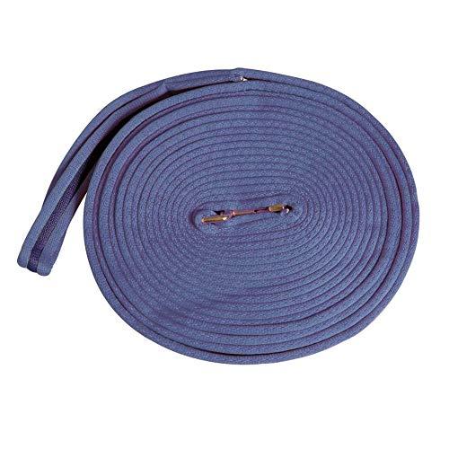 Weatherbeeta, Kincade Two Tone Lunge Line with Circle Markers Purple/Black 36'