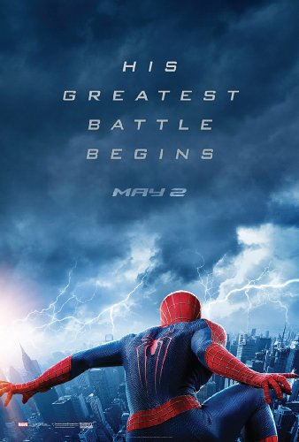 THE AMAZING SPIDERMAN 2 MOVIE POSTER 1 Sided ORIGINAL UV COATED 27x40