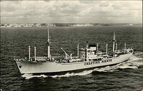 ms-chastine-maersk-boats-ships-original-vintage-postcard